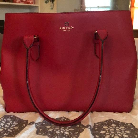 kate spade Handbags - Kate spade large leather tote